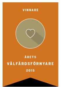 Logo vinnare Välfärdsförnyare